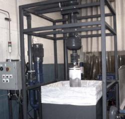 4000 lb Garnet Removal Bag Efficient Water Jet Systems Have Abrasive Removable Systems